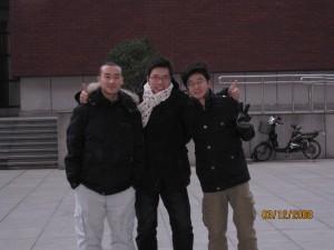 小南,李程,我(从左至右)